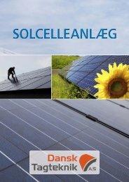 Solenergi - Dokument - Dansk Tagteknik A/S