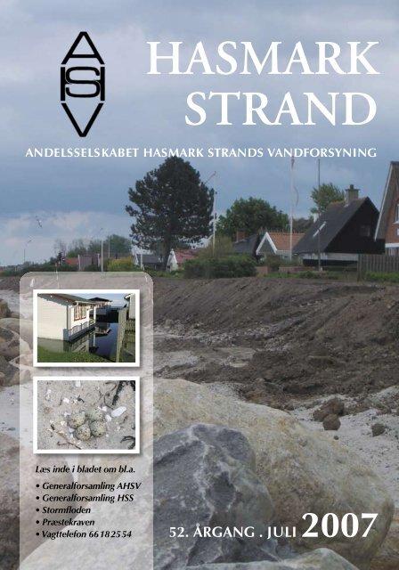 hasmark strand - Andelsselskabet Hasmark Strands Vandforsyning