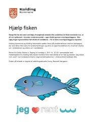 Hjælp fisken - Dalby Skole - Kolding Kommune
