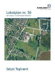 Lokalplan nr. 50 - Fredensborg Kommune