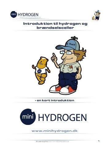 Introduktion til hydrogen og brændselsceller - skolebutik.dk