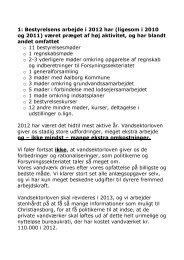 Klik her for at se beretning 2012 - Ulsted Aalebæk Vandværk