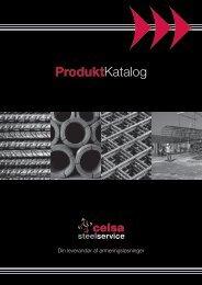Se vort produktkatalog - Celsa Steel Service