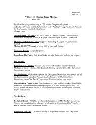 September 12, 2007 Meeting Minutes