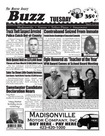 Madisonville - Monroe County Tennessee News, Monroe County ...