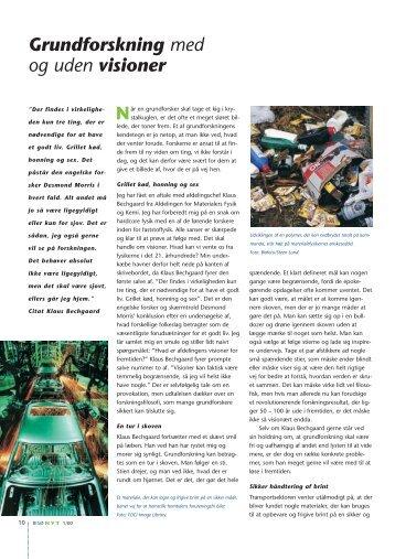 Side 10-11: Grundforskning med og uden visioner