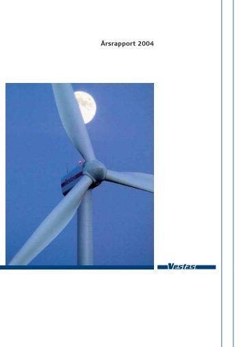 Årsrapport 2004 - Vestas