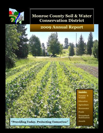 2009 - Monroe County Soil and Water Conservation District