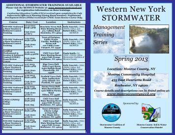 Western New York STORMWATER