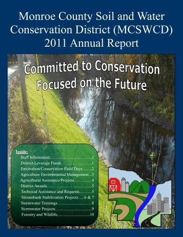 2011 - Monroe County Soil and Water Conservation District