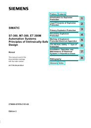 S7-300, M7-300, ET 200M Automation Systems - DCE FEL ČVUT v ...