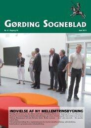 GørdinG SoGneblad GørdinG SoGneblad INDVIELSE ... - Gørding.dk