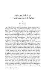 Myten om Erik Arup – i anledning af en disputats - Historisk Tidsskrift