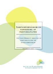 Samfundsøkonomisk vurdering af partikelfiltre - De Økonomiske Råd