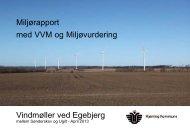 VVM-redegørelse - egebjergvindkraft.dk