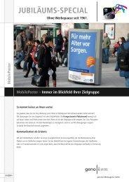 MobilePoster - geno kom Werbeagentur GmbH