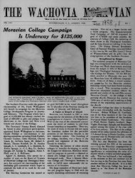 1958 - Moravian Archives