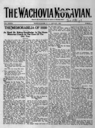 1931 - Moravian Archives