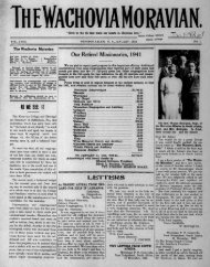 1942 - Moravian Archives