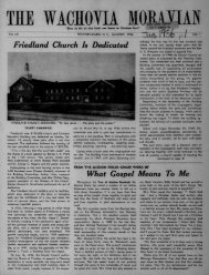 1956 - Moravian Archives