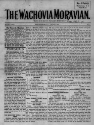 1924 - Moravian Archives