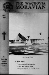 1964b - Moravian Archives