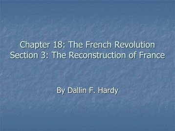 "chapter 19 test the french revolution World history video the chapter 19 video, ""the romantic era,"" chronicles  cultural and  about by the french revolution and napoleon."