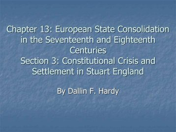 Chapter 11: The Age of Reformation Section 9: Literary ... - Home