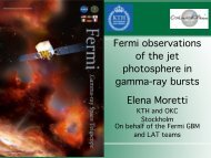 Fermi observations of the jet photosphere in gamma-ray bursts ...