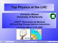 Top Physics at the LHC - Rencontres de Moriond