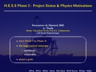 HESS Phase 2 - Rencontres de Moriond - IN2P3