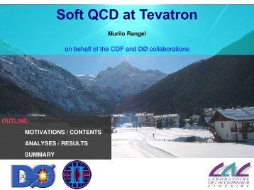 Soft QCD at Tevatron