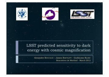 LSST predicted sensitivity to dark energy with cosmic magnification