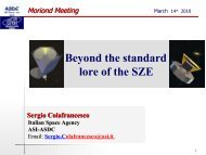 transparencies (pdf) - Rencontres de Moriond