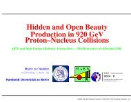 Hidden and Open Beauty Production in 920 GeV Proton?Nucleus ...