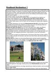 Roadbook Nordseetour 1 - Mormon Bikers