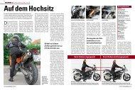 Auf dem Hochsitz - Mormon Bikers