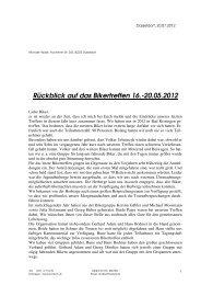 120720 Rückblick12 und Vorschau auf 13 - Mormon Bikers