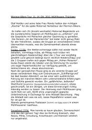 Herbsttour Mühlhausen - Mormon Bikers