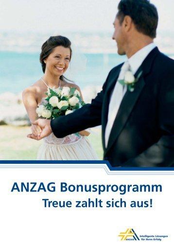 ANZAG Bonusprogramm