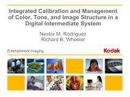 Film Printing Density - Kodak