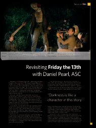 Revisiting Friday the 13th with Daniel Pearl, ASC - Kodak