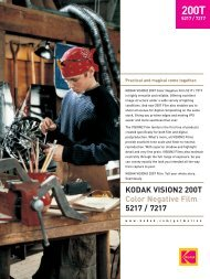 vision2 200t - Cinematography Mailing List