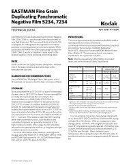Technical Data - Kodak