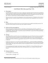 EASTMAN TRI-X Reversal Film 7278 - Kodak