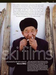 Warren Miller Ski Films - Kodak