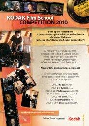 """Kodak Film School Competition""!"