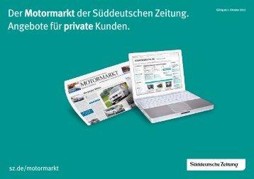 Überblick (pdf) - Süddeutsche Zeitung