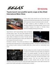 Toyota Zelas - MotorShow