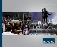 HARMAN Group Brochure - Social Media Release